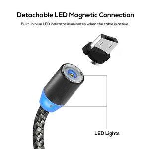 Image 3 - Магнитный зарядный кабель, кабель Micro USB Type C для iPhone 11 Pro Max Samsung Xiaomi, мобильный телефон, USB C, Магнитный провод