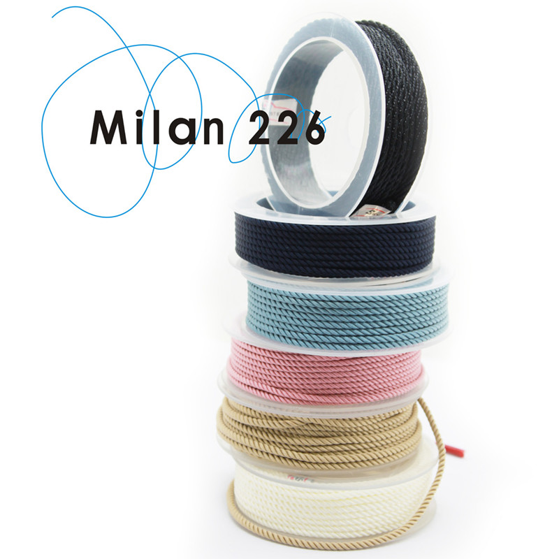 2MM SKY SYSTEM milan cord Jewelry & packing & shoes rope Necklaces & Bracelets cords 8meters/roll NO20~38