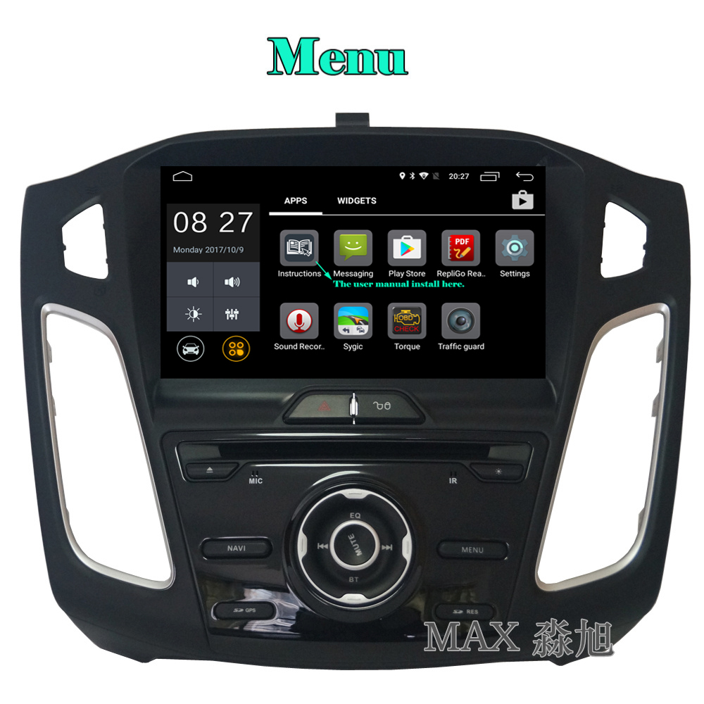 Ford focus instruction user manuals user manuals array max hd 1024 600 2g 16g android 6 0 car dvd player for ford fandeluxe Images