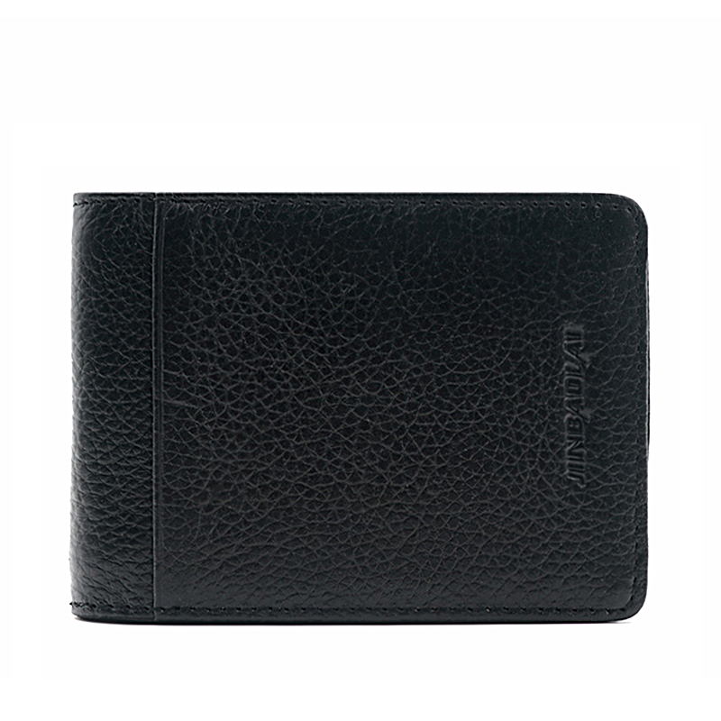 DERI CUZDAN Fashion Genuine Cowhide Leather Mens Wallet Money Clips with card Clamp for Money Portfolio Men vallet male clutch