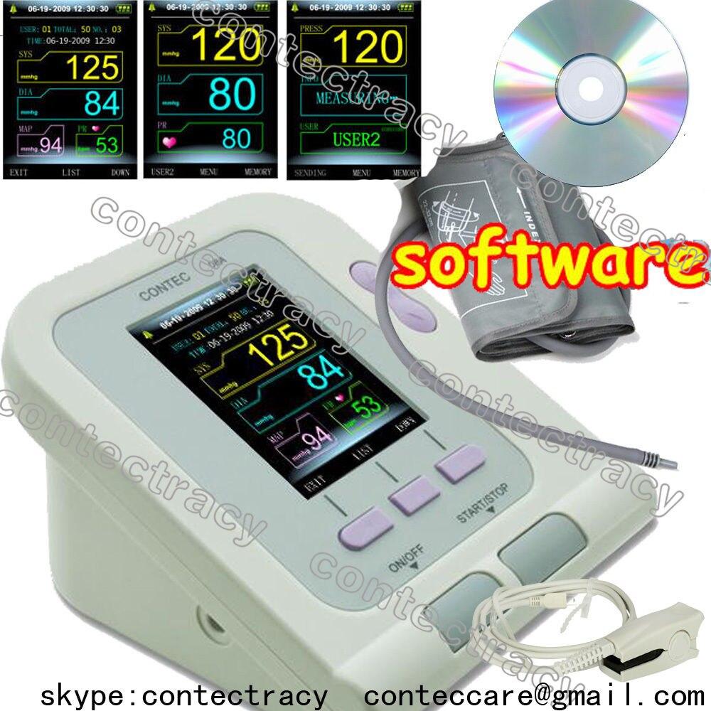 Пульсометр для измерения артериального давления, цифровой электронный сфигмоманометр, SPO2
