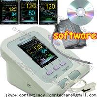 Heart Beat Pulse Blood Pressure Monitor,Digital Electronic Sphygmomanometer,SPO2