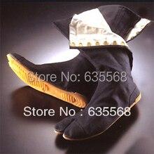 Top Quality Ninja Shoes Samurai Shoes Tabi Rikio Fighter Black Jikatabi Tabis Ninja Weapon Made in Japan Free shipping