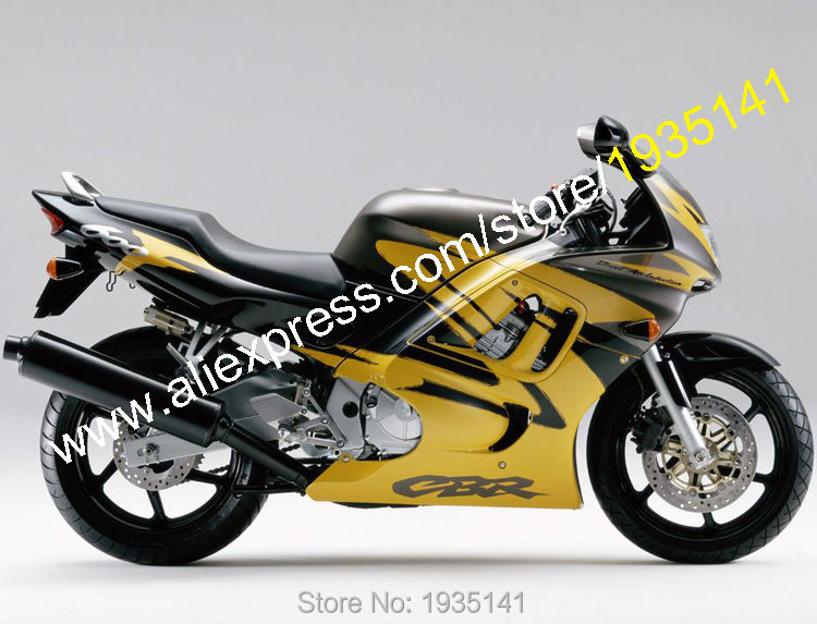Hot Sales,Body Kit For Honda CBR600 F3 1997 1998 CBR600F3 97 98 CBR 600F3 Yellow Black Motorcycle Fairing (Injection molding) motorcycle parts for honda cbr 600 f3 fairings 1997 1998 cbr600 f3 97 98 black silver seven star fairing kit d6