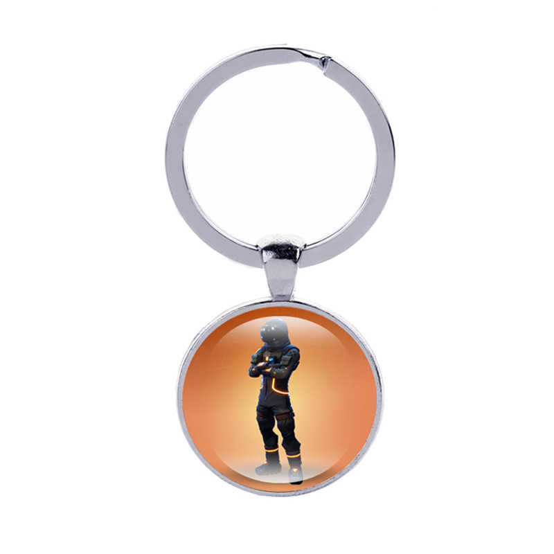 Canuomen ใหม่มาถึง Fortnight พวงกุญแจร้อนเกม Battle Royale รถ Keyrings ของขวัญเด็กแฟชั่น Key CHAIN เครื่องประดับ