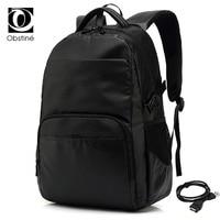 Black Backpack Male for Travel Backpacks for Men Waterproof Business Back Pack Bag for Laptop Luxury Bagpack Men Bookbag Large