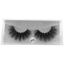 SHIDISHANGPIN  1 pairs eyelashes thick mink lashes hand made lashes 3D mink false lashes makeup 1 box false lashes extension цены онлайн