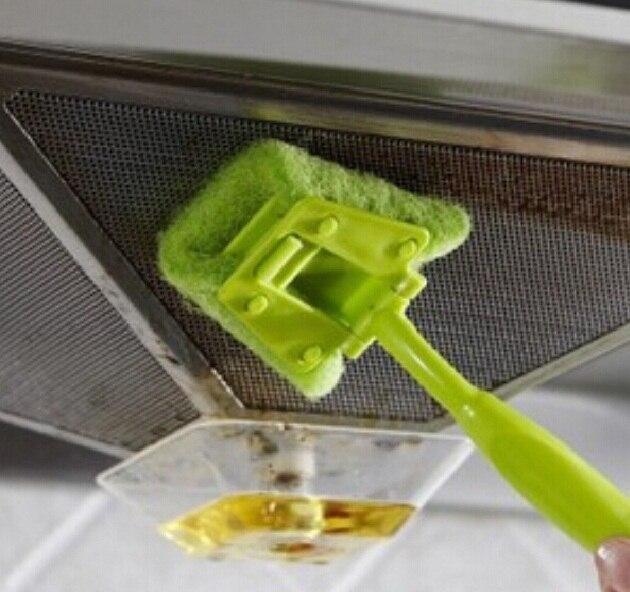 Versatile Kitchen Cleaning Brush,Creative Home Strong Decontamination Sponge Brushes ,Not To Hurt Hand Dishwashing Brush ss307