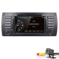 Емкостный Экран! Gps навигации 7 dvd плеер автомобиля для BMW M5 E39 5 серии 1996 2003X5 E53 2000 2007 с данные беспроводного обмена Canbus