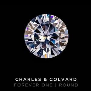 Image 2 - STARYEE Original Charles Colvard Forever One Lab Grown Moissanite Certified 2 กะรัตผล 8 มิลลิเมตร VVS RECORD สี Diamond หิน