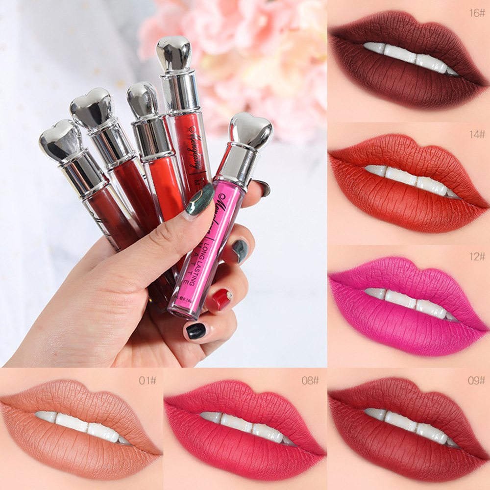 Fashion Lips Make Up Waterproof Long Lasting Lip Gloss Tint Change ...
