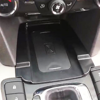 For Chevrolet Malibu 2016 2017 2018 QI wireless phone charger 10W charging plate panel charging case phone holder accessories