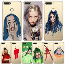 Luxury Billie eilish For Huawei Honor 10 9 8 8X 8C 7A 7C 7X 7 6X 6A 20 Pro V20 20i Lite phone Case Cover Funda Coque Etui capa(China)