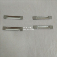 W 510 Tungsten Boats 0 5mm Thick 10mm Width 100mm Length Tungsten Evaporation Boats For Vacuum