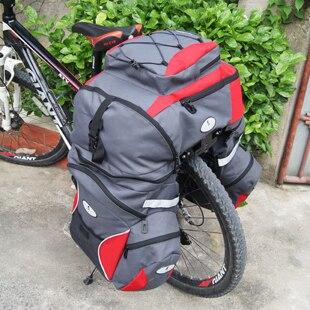 New Cycling Bicycle Accessories Waterproof Saddle Bag Duffle Bicycle Bag Rear Bike Pannier Bicycle Bags Cycling Bicycle Bag 60L
