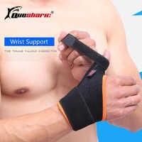 QUESHARK 1 Piece Elastic Bandage Wrist Support Thumb Hand Brace Finger Splint Tennis Weightlifting Wrist Protection