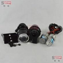fog lamps projector lens 12V/35W xenon H3 fog len lights hid bulb 6000K for car headlight hid xenon projector lens kit