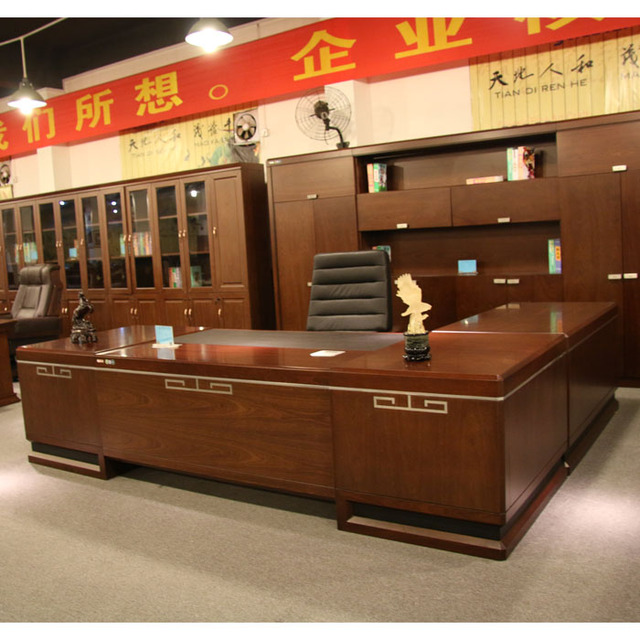 Solid wood desk ... profile tables Taiwan office furniture