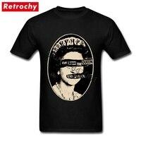 Ultime Band Mens Sex Pistols Maglietta God Save The regina Tee 80 s Stile Streetwear Cotone T-Shirt Uomo Maniche Corte abbigliamento