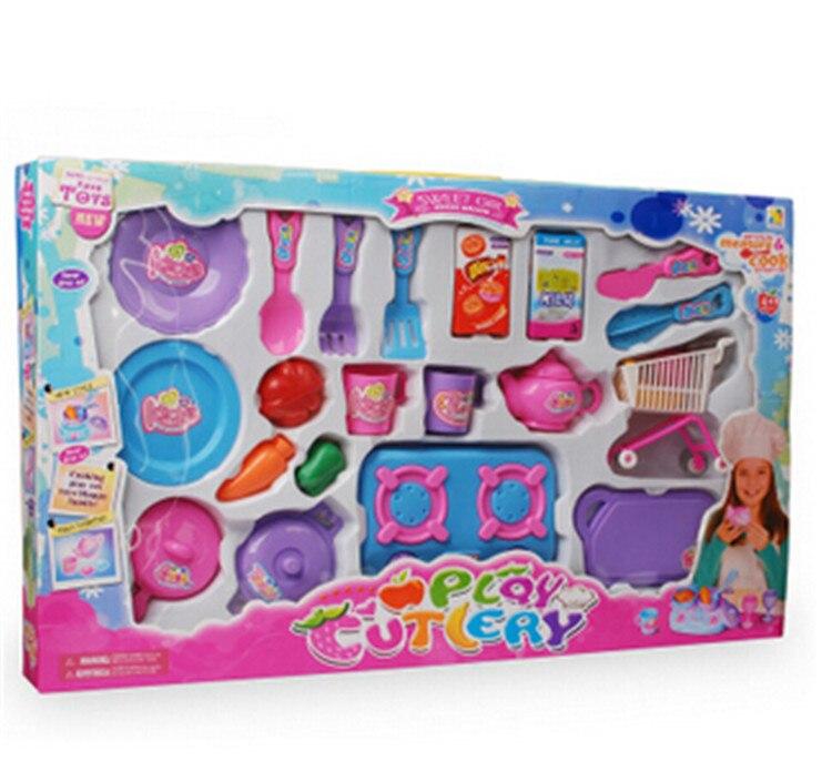 tienda online nuevo unidsset nios juguetes de cocina de cocina utensilio para cocinar set de vajilla de plstico juguetes beb juguetes para nias