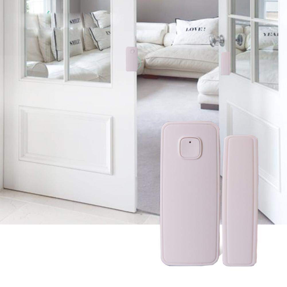 HTB1UTdOXOLxK1Rjy0Ffq6zYdVXac - Magnetic Sensor Wireless Door Window Alarm System For Home Security Wifi Door Open Switch Detector with Alexa Echo Google Home