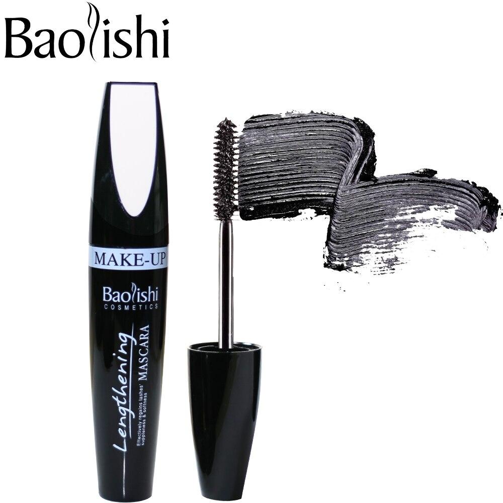 Baolishi Marca maquillaje máscara de ojos Maquillaje Alargamiento y - Maquillaje