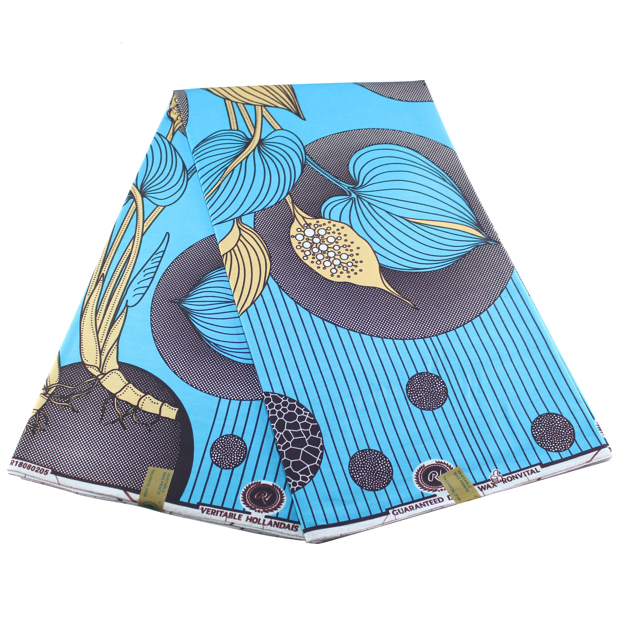 2019 DIY Real Wax Sewing Fabric Dutch Wax African Design For Women