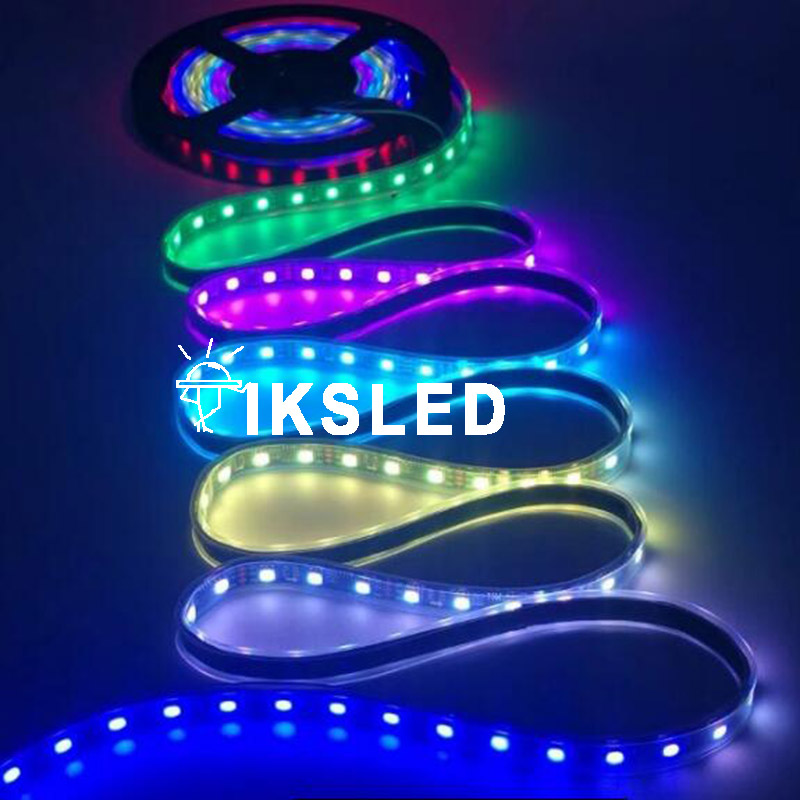 Lights & Lighting Temperate 5050 Rgb Ws2811 Ic Best Price Individually Addressable Ws2811 Led Strip 30/60 Leds/m Ws2811 Ic Waterproof Ip67