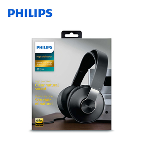 Image 5 - Philips SHP8000 Professional Headphones with Long Wires Microphone Volume Control Headset for Xiaomi MP3 Official verification