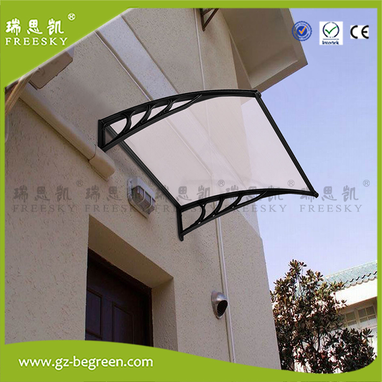 YP80100 80x100cm 80x200cm 80x300cm PC Polycarbonate Deck Awning Sun Shade Shelter Canopy For Window Door 4pcs set smoke sun rain visor vent window deflector shield guard shade for hyundai tucson 2016