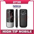 Мобильный телефон Nokia 2730c, 2730 классическая разблокированный 2 mp камера 3 G четвёрка - лента отремонтированный