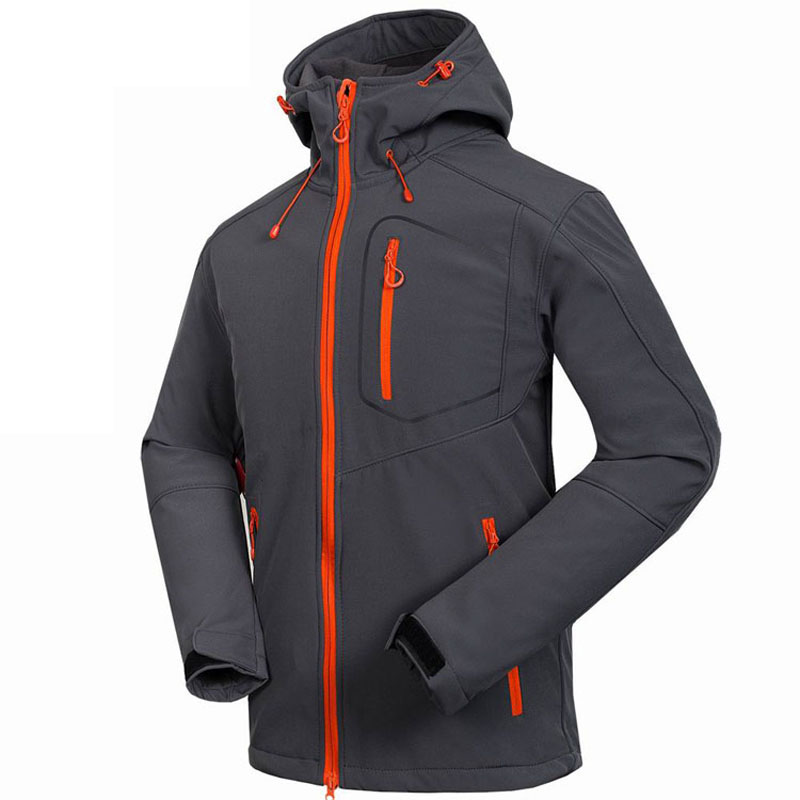 Men's Softshell Jacket Windstopper Waterproof Hiking Jackets Outdoor Thick Winter Coats Trekking Camping Ski  winter jacket