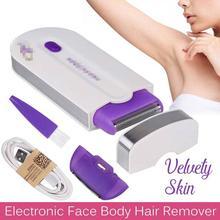 Женский эпилятор для тела и лица, эпилятор, женский эпилятор, бикини, Женская бритва, USB Перезаряжаемый сенсорный Фотоэпилятор, Depiladora cream