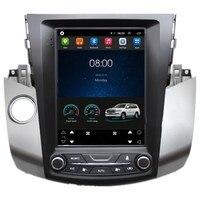 10,4 Тесла вертикальный экран мультимедиа для Android Стерео DVD gps навигация для Toyota RAV4 RAV 4 2006 2007 2008 2009 2010 2011
