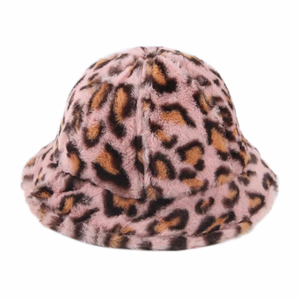 الشتاء الصياد قبعة صبي و فتاة الدافئة أزياء ليوبارد قبعة بوب الفاتحة Kapelusz قبعة بحافة Gorro Invierno هومبر
