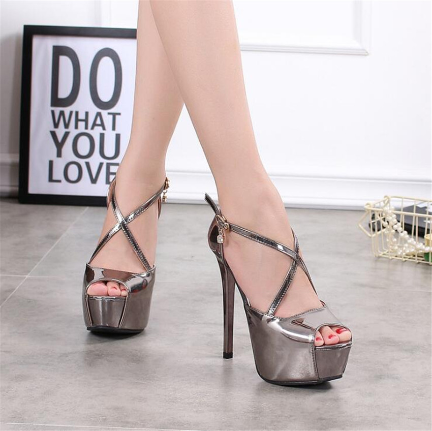 ZOUDKY 2018 Korean T Strap new fish mouth high profile fashionable women s shoes