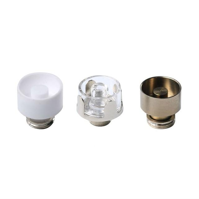 3pcs 12mm Quartz Ceramic Titanium Heating Coil Cup Bowl Chamber for Greenlightvapes G9 510 Nail Enail Henail Plus TC Port Pen
