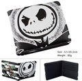 New The Nightmare before Christmas Jack Skellington Cartoon Wallet Purse Bag Gift