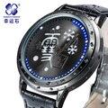 Selvagem bom Deus Marca de relógios LED Homens Relógio Business Casual Relógios Digitais Militar relógio de Pulso à prova d' água Relogio Nova VENDA