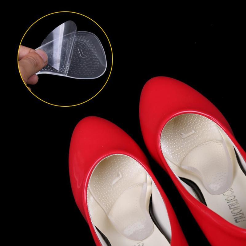 1 пара коррекции стельки Нескользящая боли Плоскостопие ортопедических Arch Поддержка силиконовые стельки для обуви массажер для ног уход