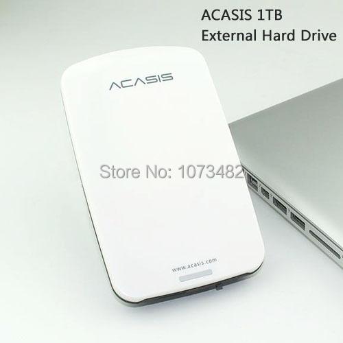 Frete grátis em venda 2.5 '' ACASIS Original USB2.0 HDD 1 TB de disco rígido disco rígido de 1000 GB interruptor bom preço