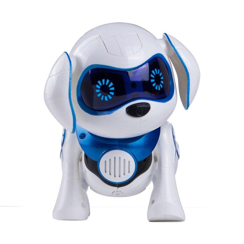 Électronique Pet Chiot Chien Télécommande Chien Robot Intelligent Danse Marcher Chien Intelligent Robots pour Enfants Nouvel An Cadeau De Noël