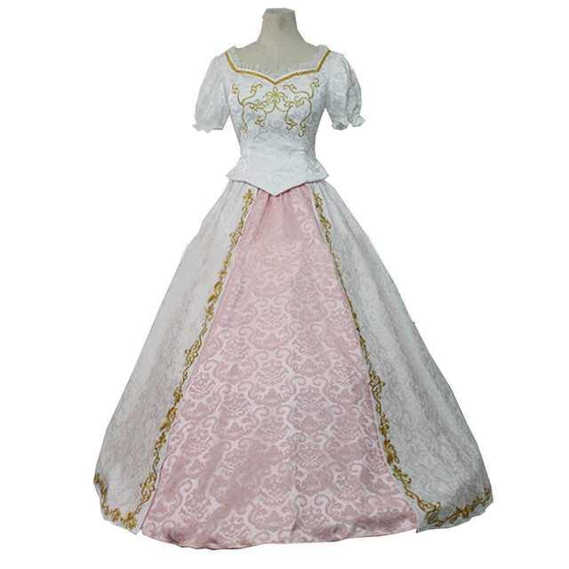 2018 Custom Tangled Beautiful Rapunzel Princess Wedding Dress