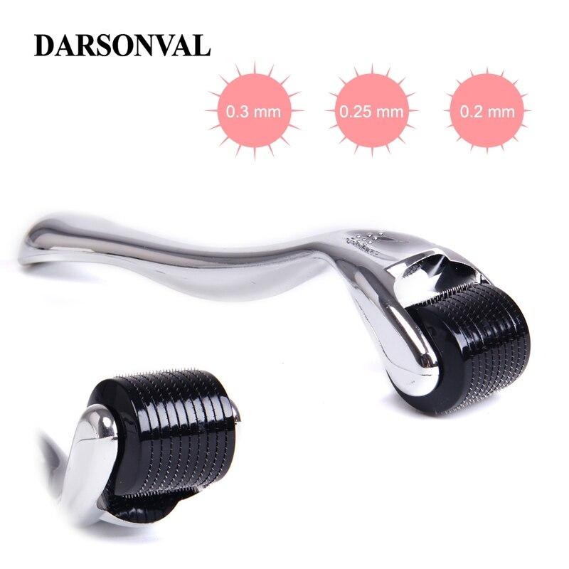 DARSONVAL DRS 540 Micro Needles Derma Roller Titanium Mezoroller Microneedle Machine For Skin Care And Body Treatment(China)