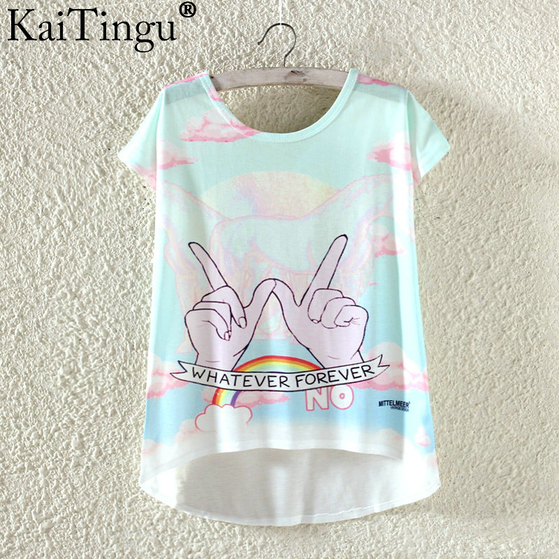 HTB1UTgMOVXXXXauaVXXq6xXFXXX1 - Kawaii Cute T Shirt Harajuku High Low Style Cat Print