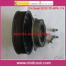 Высокое качество переменного тока муфта компрессора используется для DCS17E AUDI A3 Seat Skoda VW PV6 Шкива 1K0820803H 1K0820803L 1K0820803N 1K0820859D