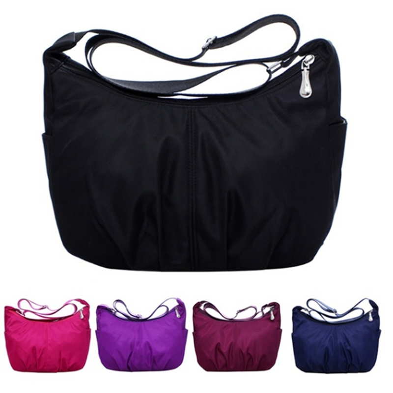2019 High Quality Waterproof Nylon Hobo Messenger Bags Women Crossbody Shoulder Bags Ladies Handbags Women's