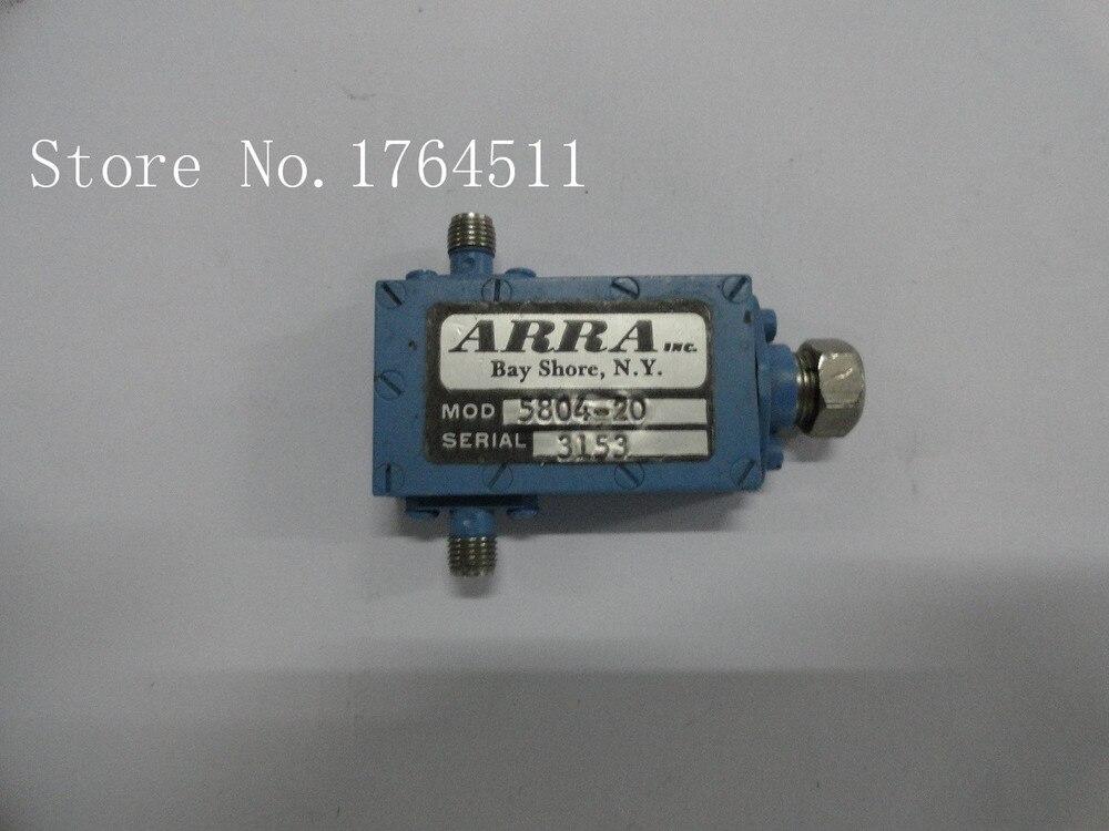 [BELLA] Adjustable Variable Attenuator ARRA 5804-20 0-20dB 4-8GHz Continuation SMA