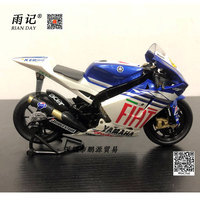 RIAN DAY 1/12 Scale MotoGP Motorbike YAMAHA YZR M1 2013 FACTORY Racing Diecast Metal Motorcycle Model Toy For Collection