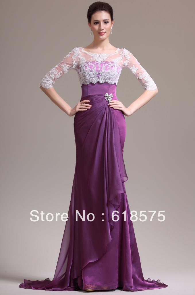 Half Lace Gown – fashion dresses